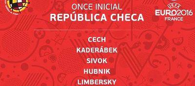 Listado Once titular República Checa