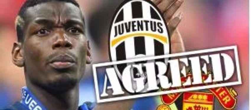 Acuerdo de Juventus y Manchester por Paul Pogba