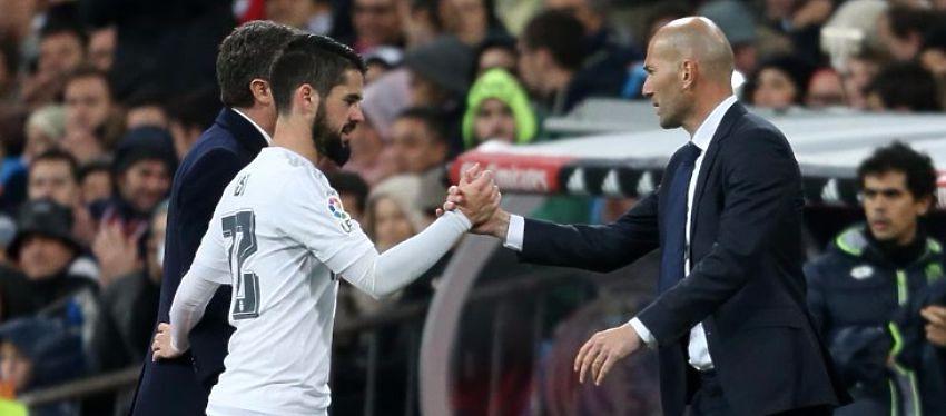 Isco sería uno de los integrantes de lujo del banquillo de Zidane. Foto: Twitter.