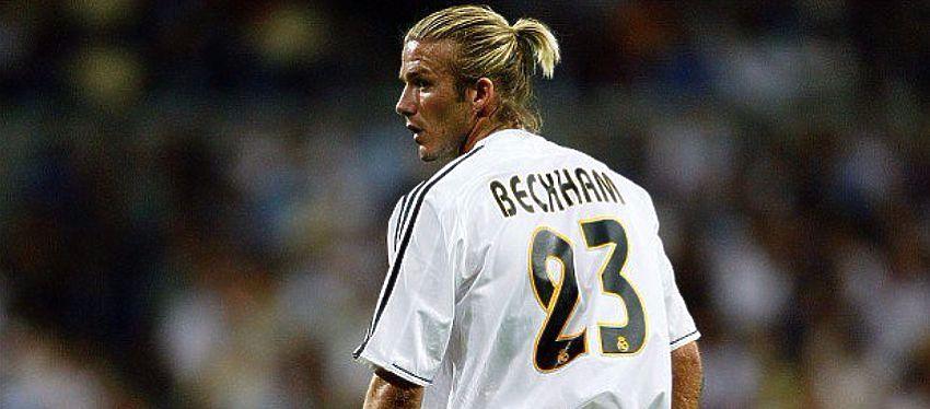 David Beckham fue uno de los primeros Galácticos que aterrizaron en el Bernabéu. Foto: Twitter.