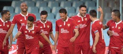 El Sevilla sigue con paso firme en LaLiga tras golear al Celta el pasado fin de semana. Foto: Sevilla FC.