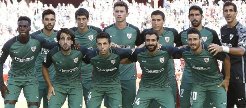 Equipo inicial del Athletic | Foto: Twitter