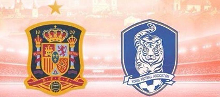 La selección española se enfrentará por sexta vez a Corea del Sur. Foto: @sefutbol.
