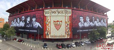 Panorámica del estadio Ramón Sánchez Pizjuán. Foto: Colina de Nervión.