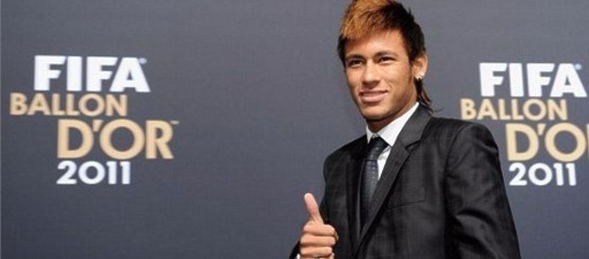 Neymar, ganador del Premio Puskas en el año 2012. Foto: Twitter.