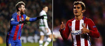Messi y Griezmann volvieron a ser decisivos en la jornada de Champions.