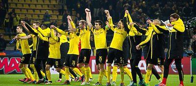 El Borussia Dortmund también ha querido unirse a esta moda. Foto: Twitter.