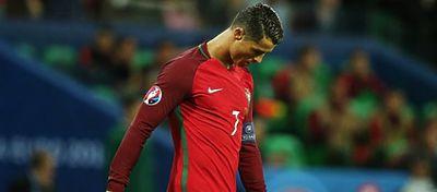 Cristiano Ronaldo jugando con Portugal | Foto: @selecaoportugal