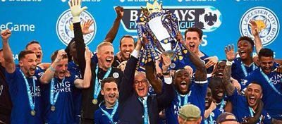 De seguir así, el Leicester podría ser el primer equipo en la historia en ganar el título y descender un año después. Foto: Twitter.
