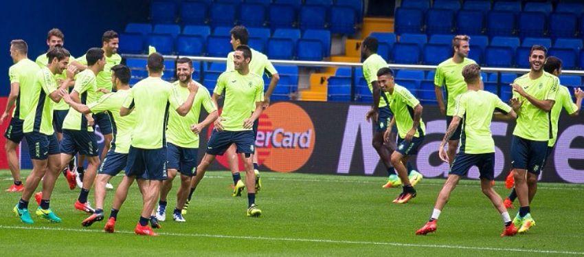 El Villarreal prepara el partido de vuelta ante el Mónaco. Foto: Villarreal.