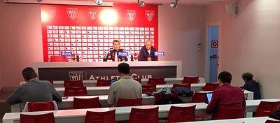Rueda de prensa de Valverde | Foto: Twitter