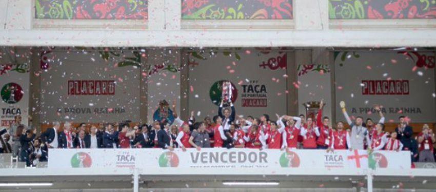 Celebración Taça de Portugal - Foto: Twitter
