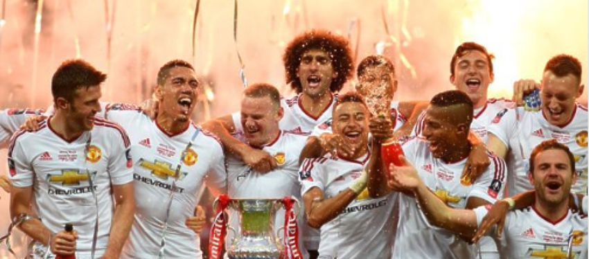 Celebración Manchester United FA Cup - Foto Twitter