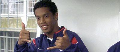 La alocada vidade Ronaldinho en París