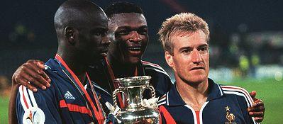 La última Eurocopa que ganó Francia fue en el año 2000. Deschamps fue el capitán de aquella selección. Foto: @uefaeuro.