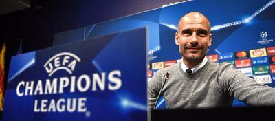 Pep Guardiola, en rueda de prensa. Foto: Sport.