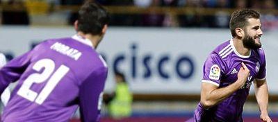 Nacho celebra el que fue, sin duda, el mejor gol de su carrera. Foto: Twitter.