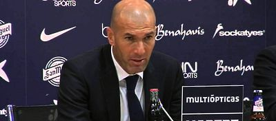 Zinedine Zidane en rueda de prensa | Foto: Archivo