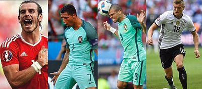 Bale, Cristiano, Pepe y Kroos están a un paso de plantarse en la final de la Eurocopa. Foto: Instagram.