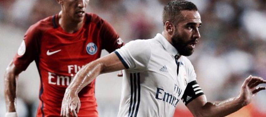 """Carvajal: """"La esencia del Madrid es que nunca se rinde"""""""