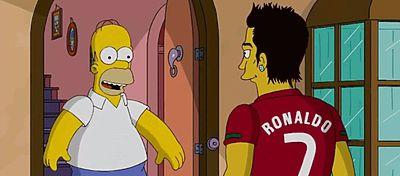 ¿Cómo serían los grandes equipos de Europa en Los Simpsons?