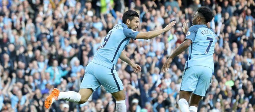 Nolito anotó el empate para el Manchester City en su 30 cumpleaños pero no fue suficiente. Foto: @mancityes.