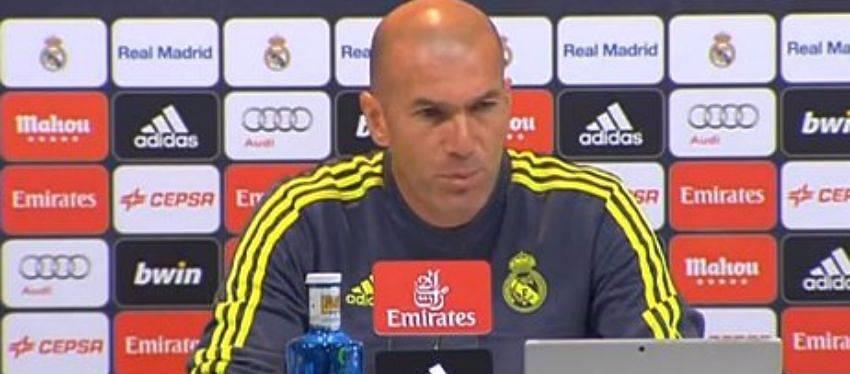 Zidane: 'El martes nos jugamos la temporada'