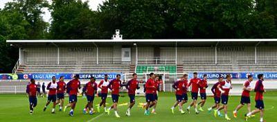 Sesión de entrenamiento de Inglaterra | Foto: @ England