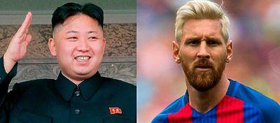 Corea del Norte ha aumentado sus ambiciones y ahora se plantea dominar el mundo...del fútbol. Foto: Twitter.