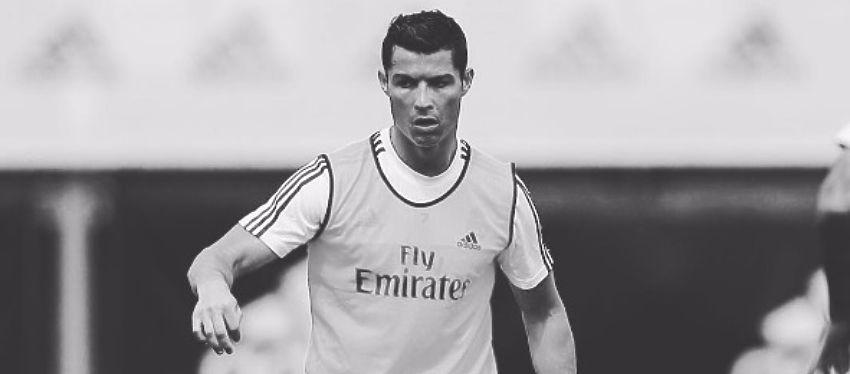 Cristiano Ronaldo en el entrenamiento previo a la final. Foto: Instagram.