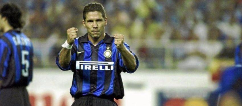 Simeone, durante su etapa en el Inter de Milán. Foto: Marca.