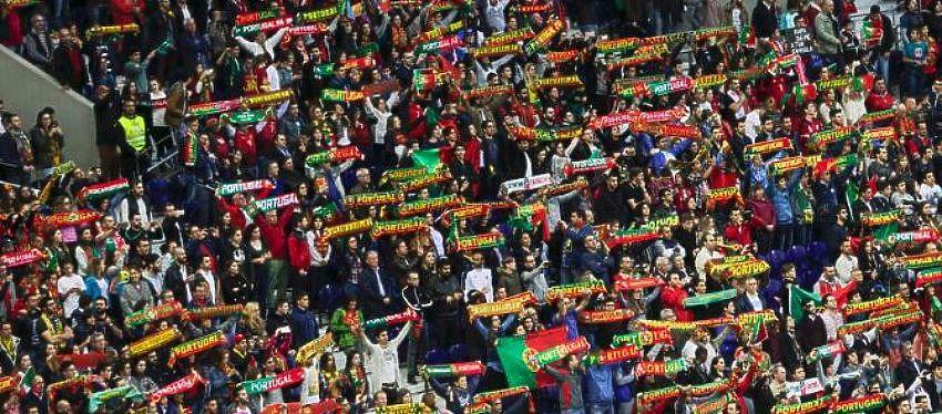 Aficionados de Portugal | Foto: Twitter