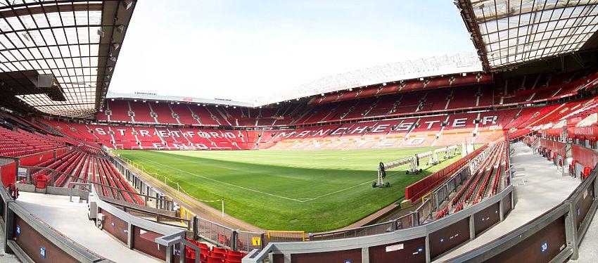 Old Trafford, con capacidad para más de 76.000 espectadores. Foto: flickr