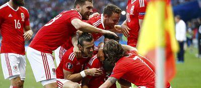 Gales celebrando un gol | Foto: @Gales_es
