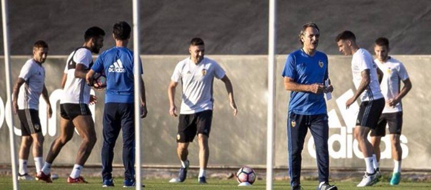 El Valencia prepara el choque ante el Barça. Foto: @sport.