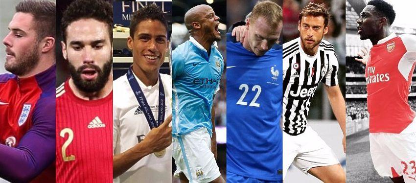 La Eurocopa arrancará el próximo 10 de junio y habrá varios jugadores que no estarán en la cita.