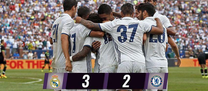 Victoria del Real Madrid ante el Chelsea