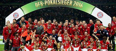 Celebración copa Alemania Bayer Munich - Foto: Twitter