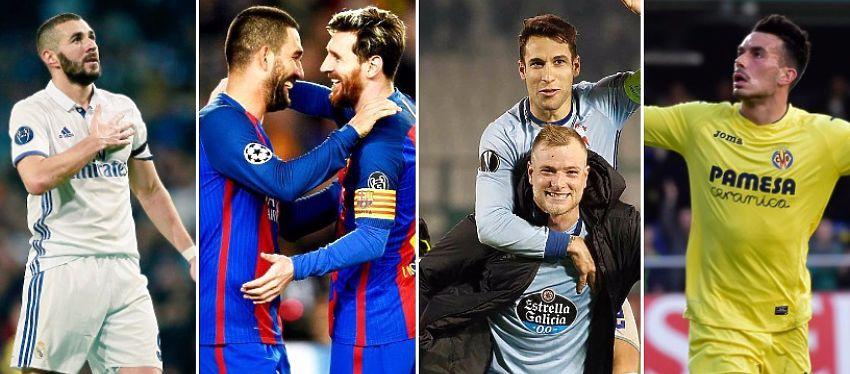 Los siete representantes españoles en Europa sellaron su pase para la siguiente ronda de la Champions y la Europa League.