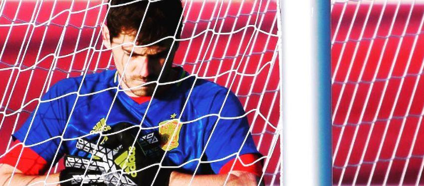 Casillas no había sido suplente con España en una gran cita desde el año 2000. Foto: Instagram.