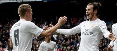 Bale y Kroos vuelven al trabajo