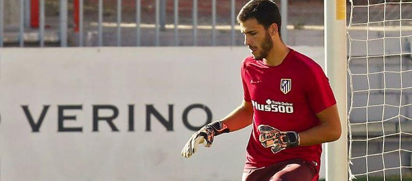 André Moreira durante el entrenamiento de hoy | Foto: @Atleti