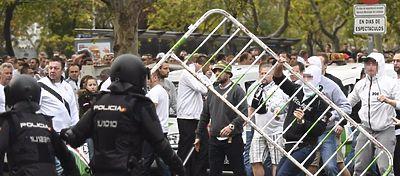 El Madrid espera que no se vuelvan a repetir los incidentes que tuvieron lugar hace dos semanas. Foto. Twitter.