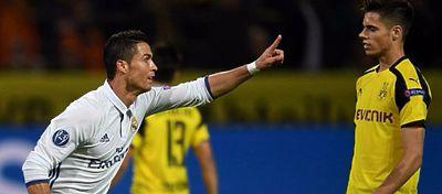 El Madrid deberá decidir si ir a por el partido ante el Dortmund o conformarse con el segundo puesto. Foto: Twitter.