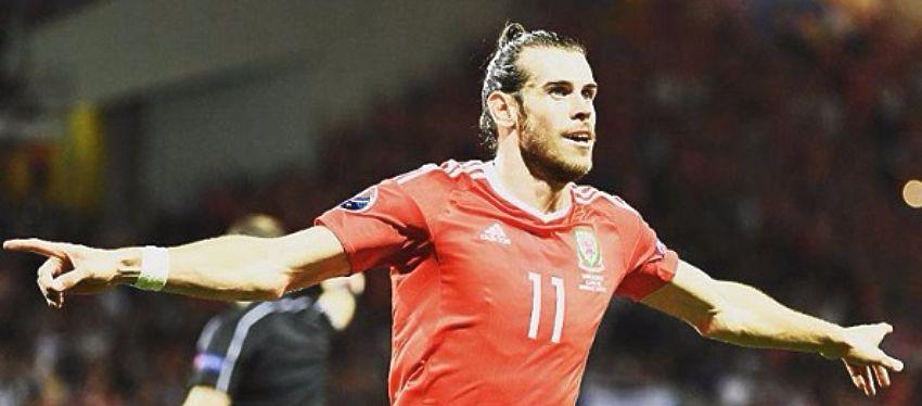Gareth Bale, con tres goles, es junto a Álvaro Morata el máximo goleador en lo que llevamos de Eurocopa. Foto: @uefaeuro.