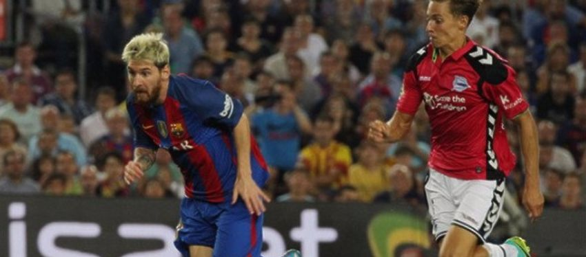 El Barça espera lograr los tres puntos tras la inesperada derrota frente al Alavés de la pasada jornada. Foto: Twitter.