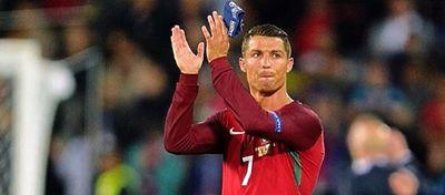 Cristiano Ronaldo agradece el apoyo a los aficionados tras el empate entre Portugal e Islandia. Foto: Instagram.