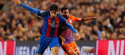 André Gomes es el elegido para sustituir al lesionado Iniesta. Foto: Twitter.