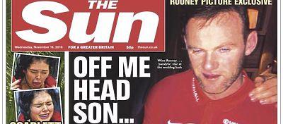 Salen a la luz las imágenes de Wayne Rooney borracho