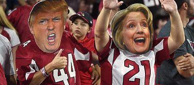 El deporte en Estados Unidos no ha permanecido ajeno a las elecciones. Foto: Twitter.
